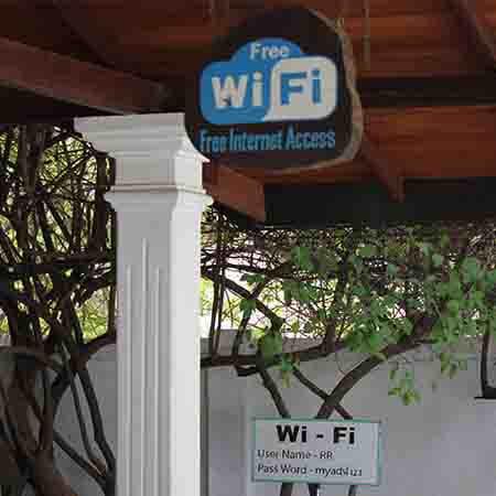 Toegang gratis wifi