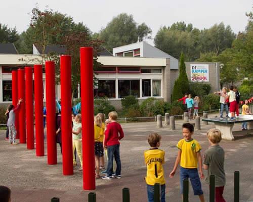 Aanleg Wifi netwerk school Kamperfoelie Huizen